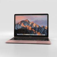 apple macbook mac 3D