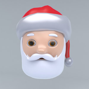 3D icon claus