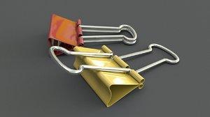 clip holder 3D model