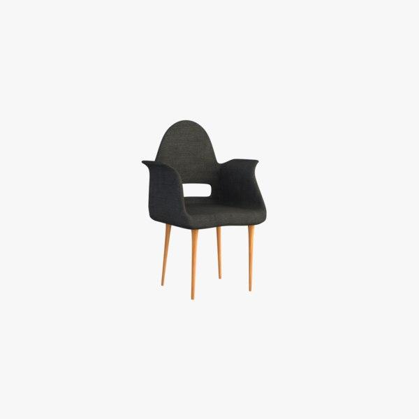 furnishings seat chair 3D model