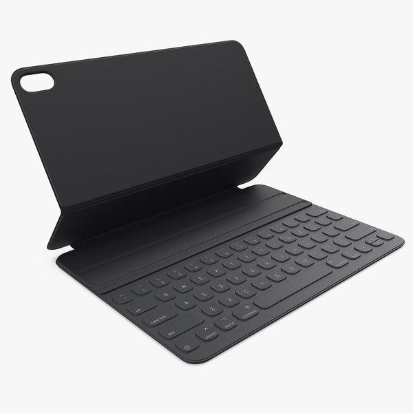 3D apple smart keyboard model