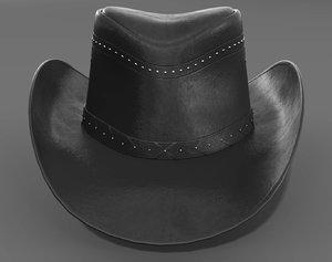 3D model hat cap