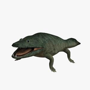 mastodonsaurus 3D model