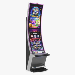 3D casino slot machine generic