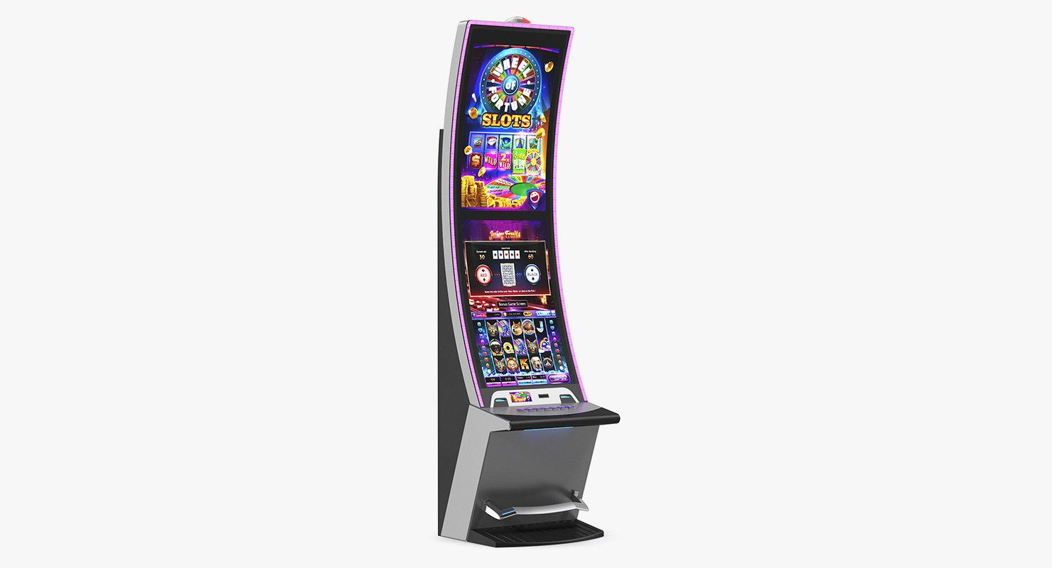 3D casino slot machine generic