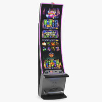 playtrix casino slot machine 3D model