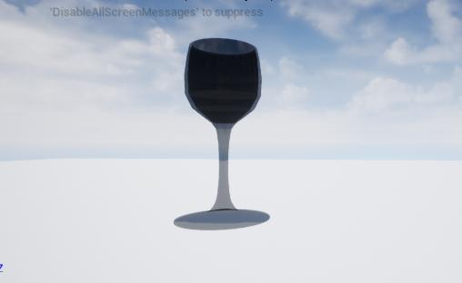 vine glass 3D model