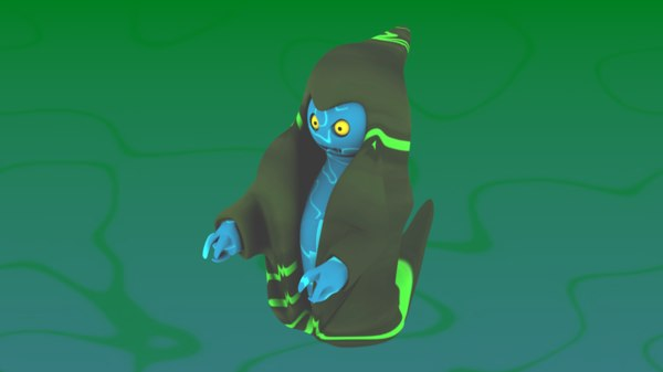 ghost fantasy games 3D model