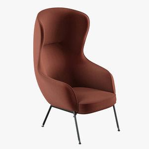 3D fogia mame armchair nichetto