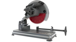rpm table saw 3D model