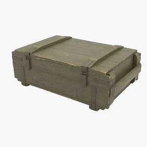 3D ammo crate