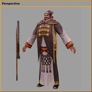 3D characters-aladdin model
