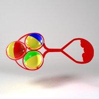 3D brinquedo blender