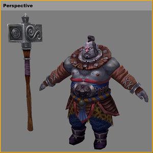 3D characters- world magic