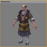 characters-evil tou 3D model
