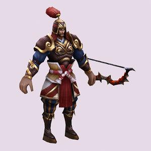 characters - archers 3D model