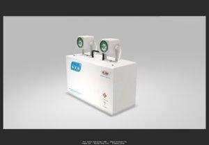 3D emergency light