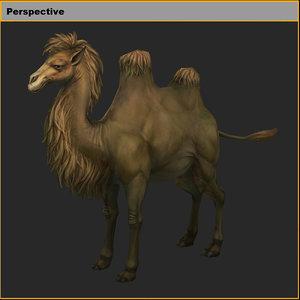 3D model characters-camel