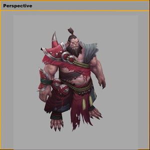 3D characters - elite mobs