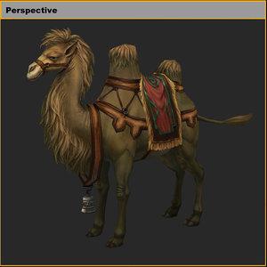 3D characters-camel 02