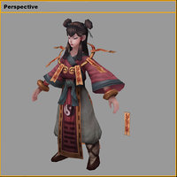 3D characters - ritual way