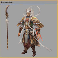 characters-horse ming wang 3D model