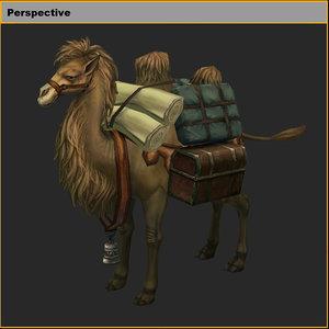 characters-camel 03 model