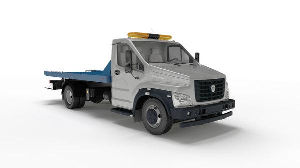 3D gaz tow truck