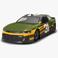 nascar race car richard 3D