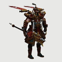 characters-haotian day 3D model