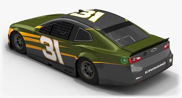 nascar race car richard 3D