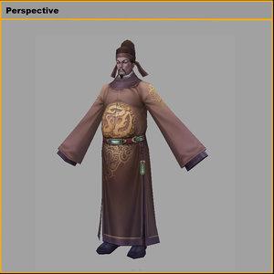 characters-tang taizong model