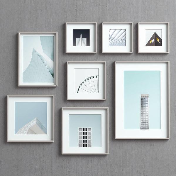 picture frames 3D model