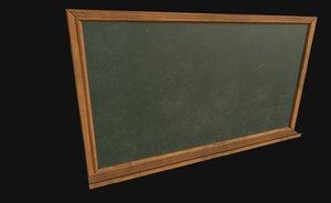ready chalkboard model