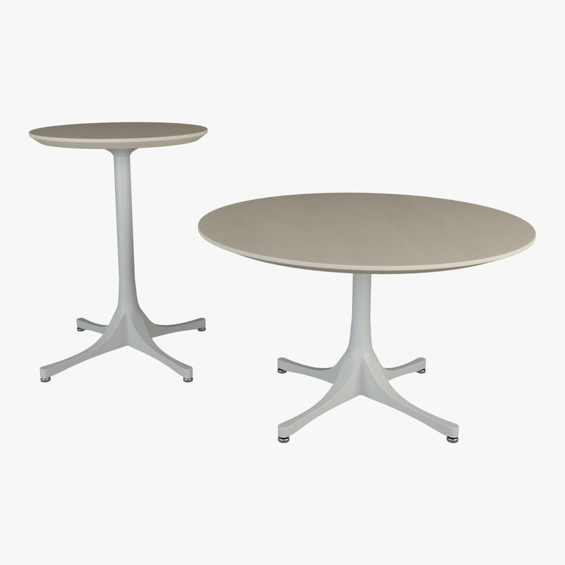 vitra nelson table 3D model