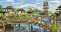 Fantasy Asian Environment