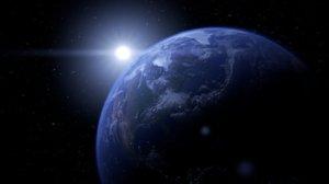 earth aura sun 3D