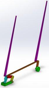 manuel car wiper 3D model