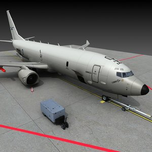 p-8a poseidon royal australian 3D model