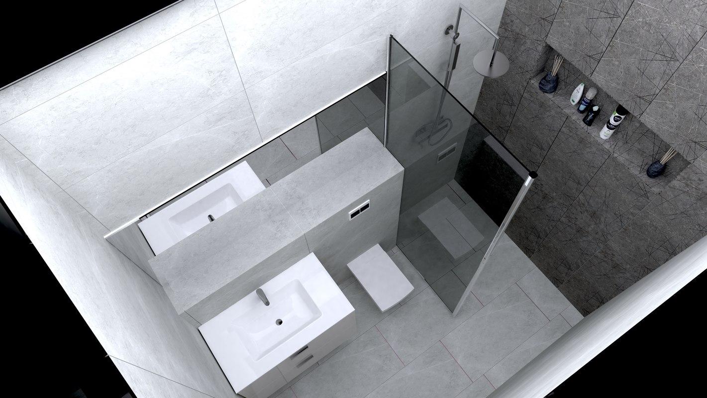 3D bathroom model