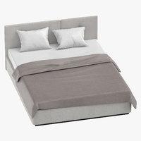 bedroom 02 3D model