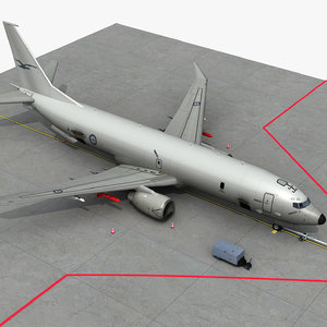 3D p-8a poseidon royal australian model