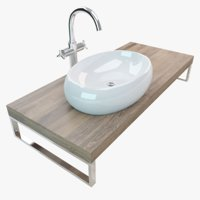 Bathroom Plate Washbasin 016