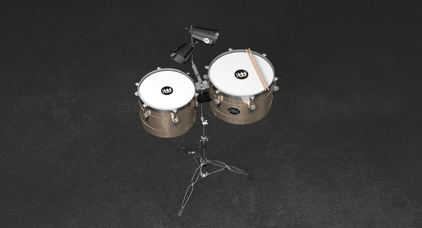 meinl percussion timpales 3D