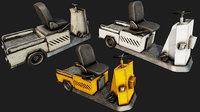 luggage vehicle pbr 3D