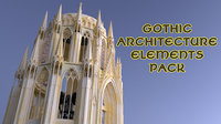Gothic Architecture Elements Pack