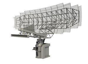 3D sps-49 air search radar