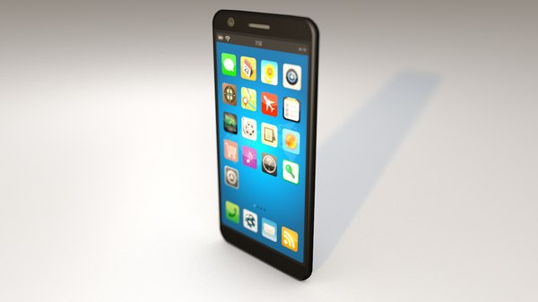 generic android smartphone 3D