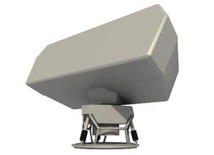 smart air radar 3D model