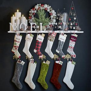 holiday decor christmas 3D model